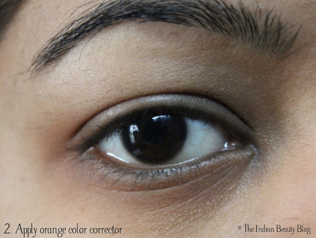 tips to conceal dark circles