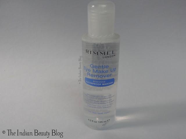 rimmel gentle eye make up remover