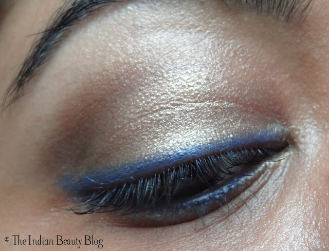 copper brown eye makeup look