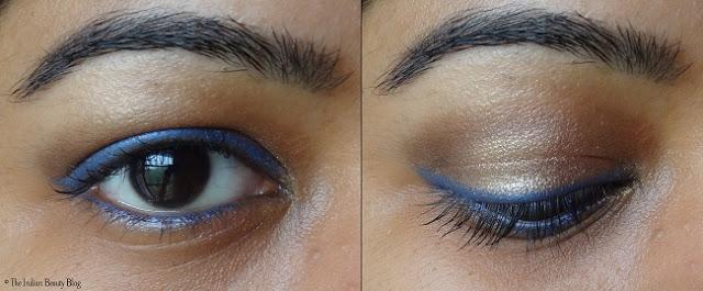 loreal color riche le kohl portofino blue swatches