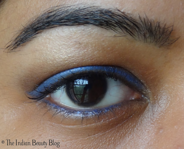 copper brown eye makeup with a twist