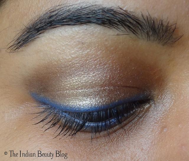 copper brown eye makeup