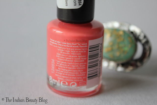 rimmel 60 seconds nail polish price