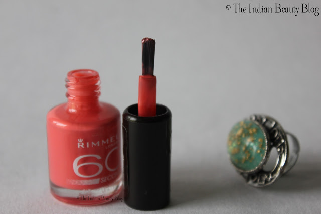 rimmel 60 seconds nail polish reviews