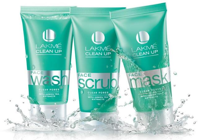 lakme clean up clear pores range