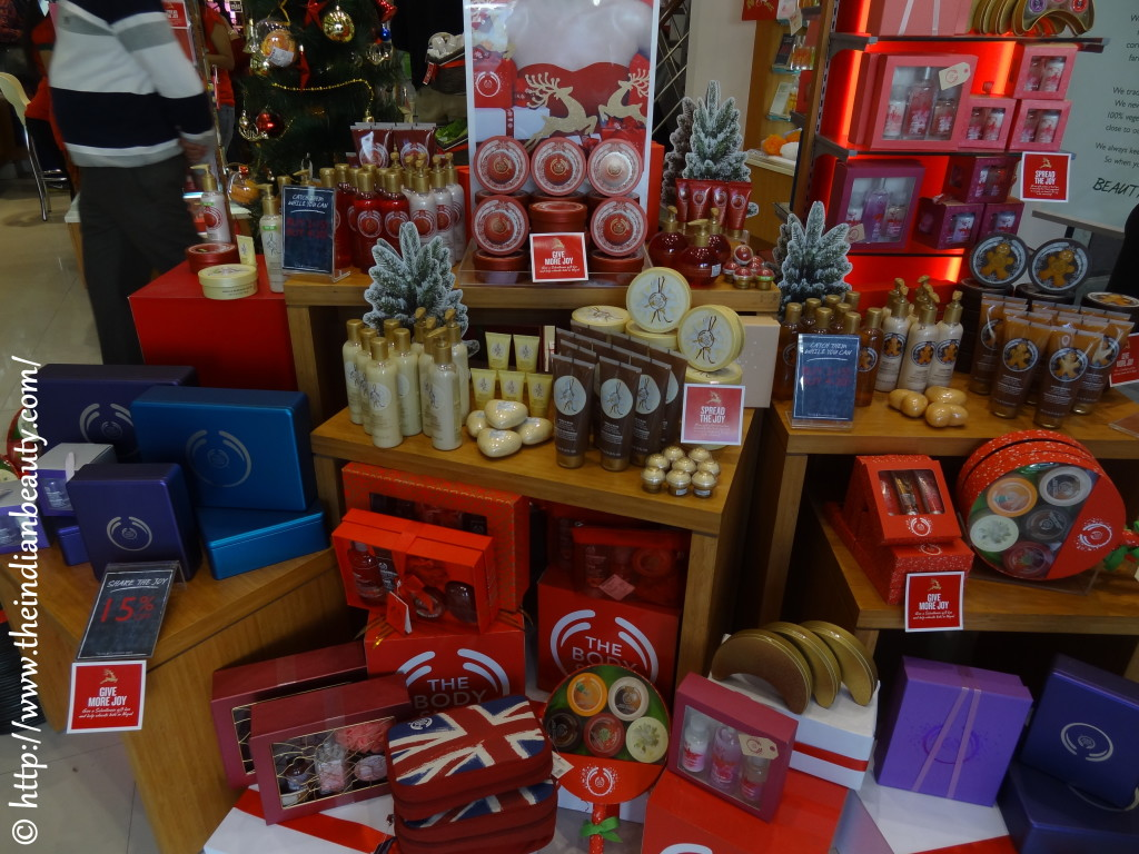 the body shop christmas event
