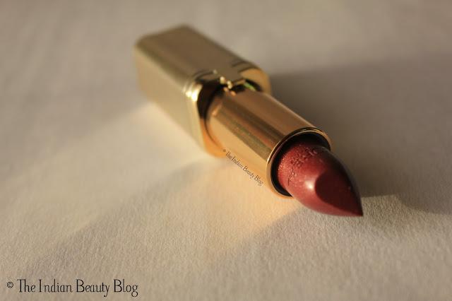 L'Oreal Paris Color Riche lipstick Fever Brown reviews