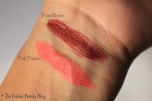 l'oreal paris color riche lipstick pink passion swatch