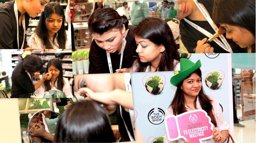 the body shop earth day event