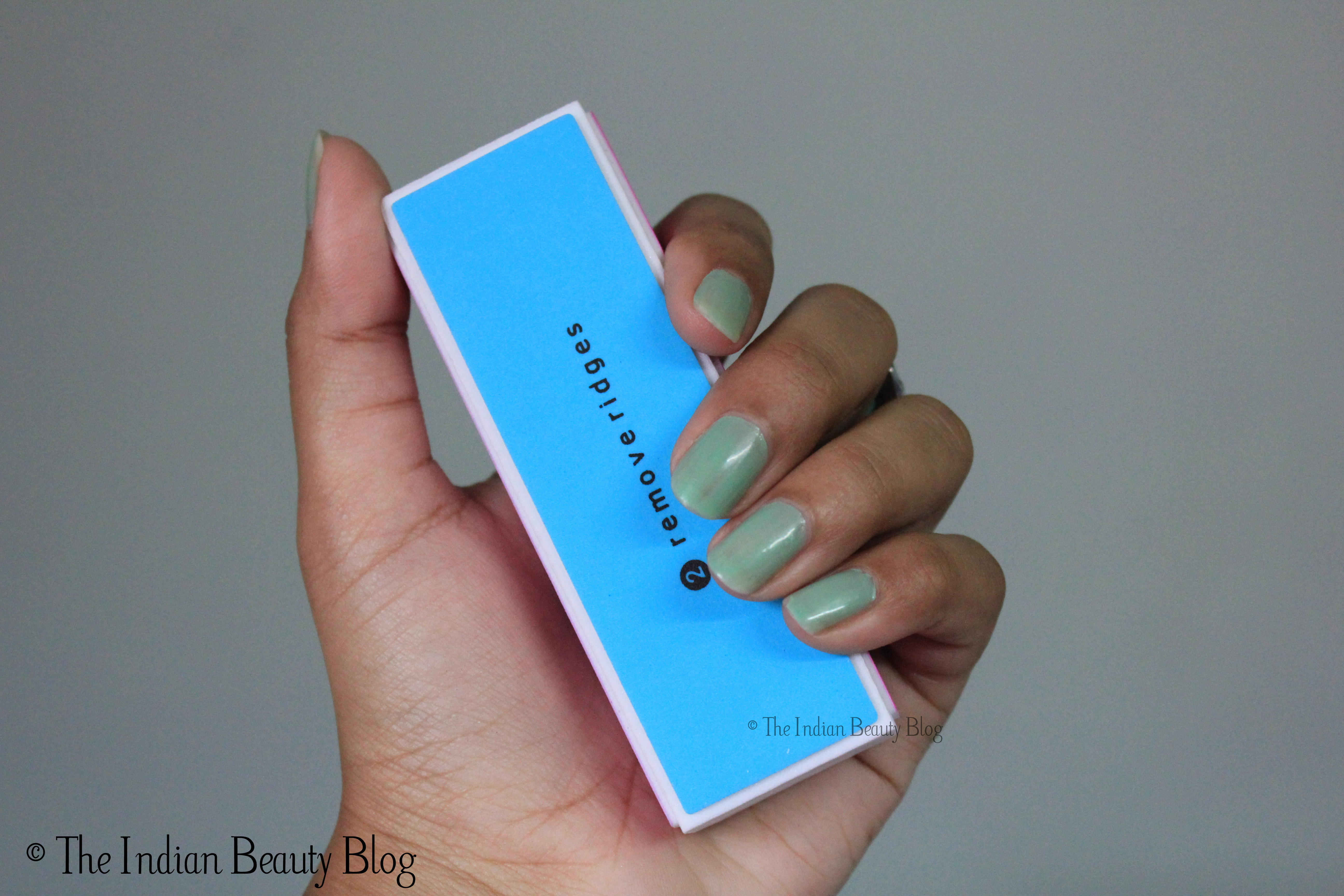 Basicare 4-way Nail Buffer Block: Review - The Indian Beauty Blog