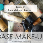 Base Make-up lesson 1: Products