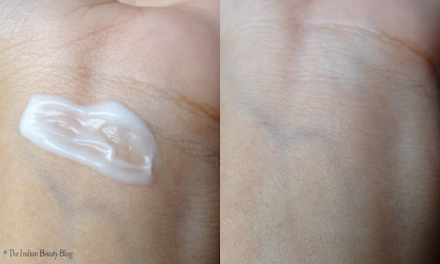 crabtree and evelyn lily body lotion swatch