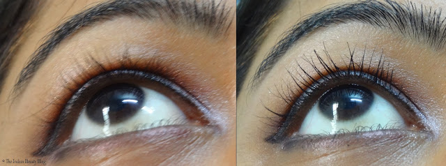 rimmel scandal eyes show off mascara on eyes