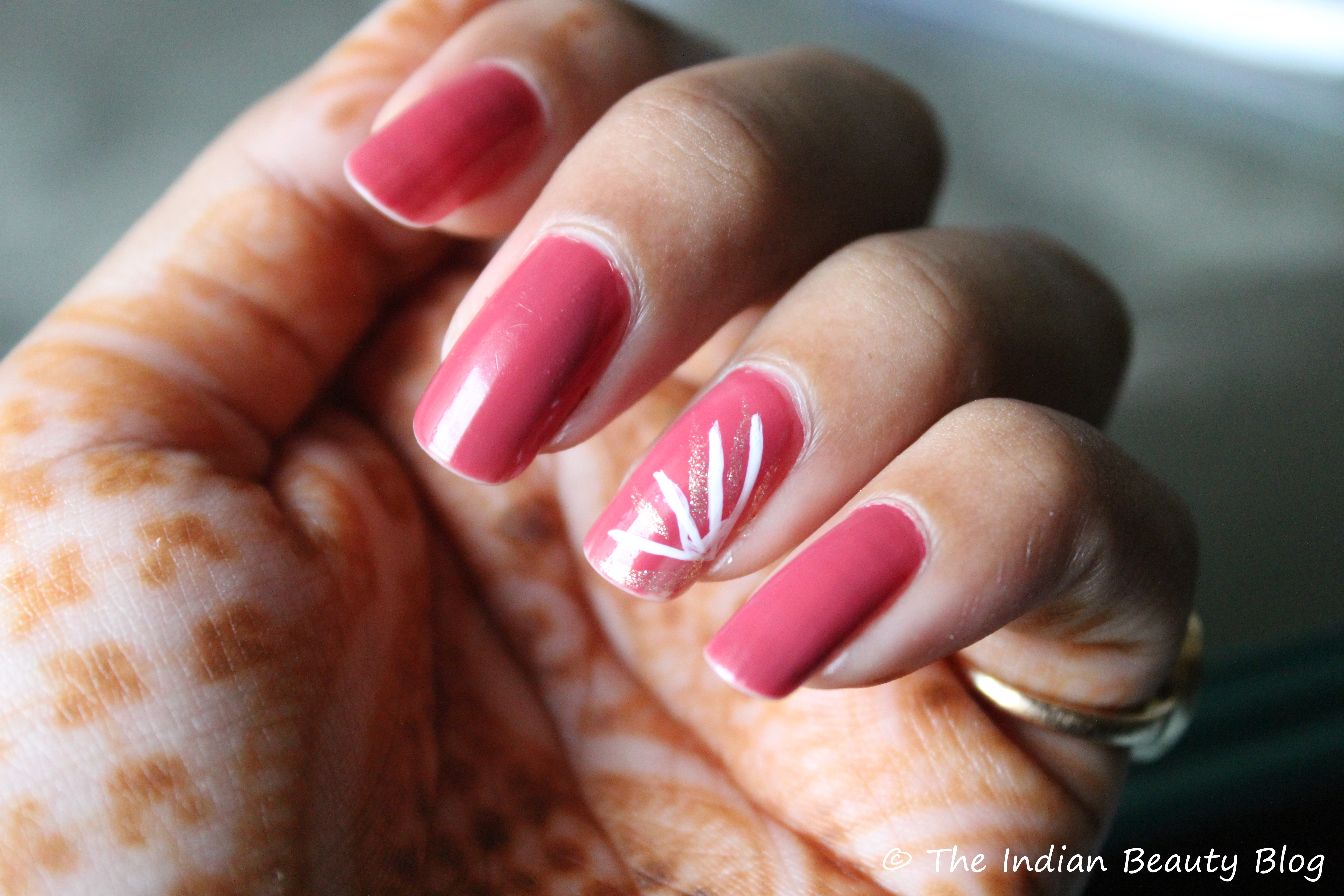 Nail Art At Lakme Fashion Week 9 To 5 Color Rust
