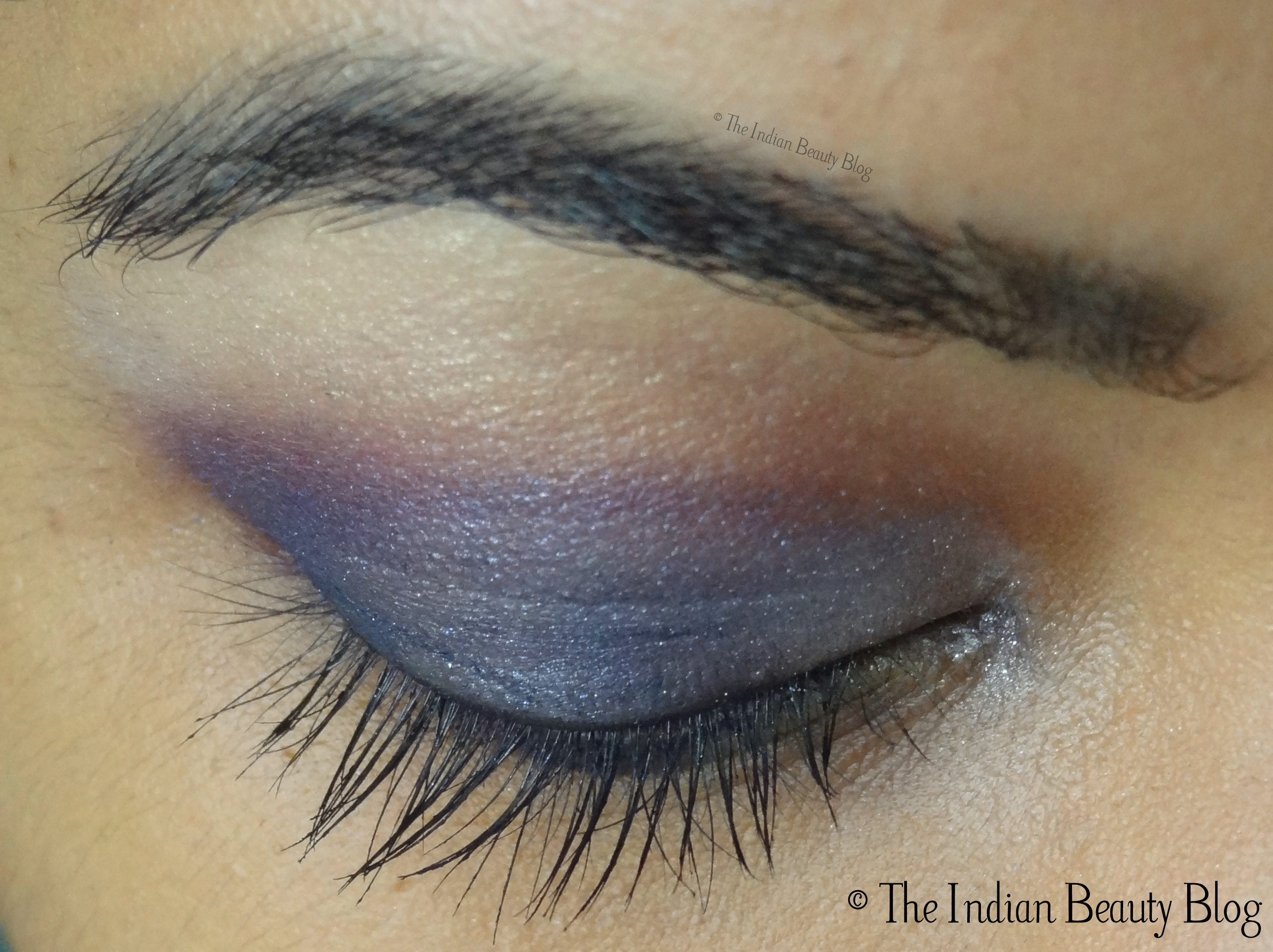 30 Days Eye Makeup Challenge Look 16 Blue N Purple The