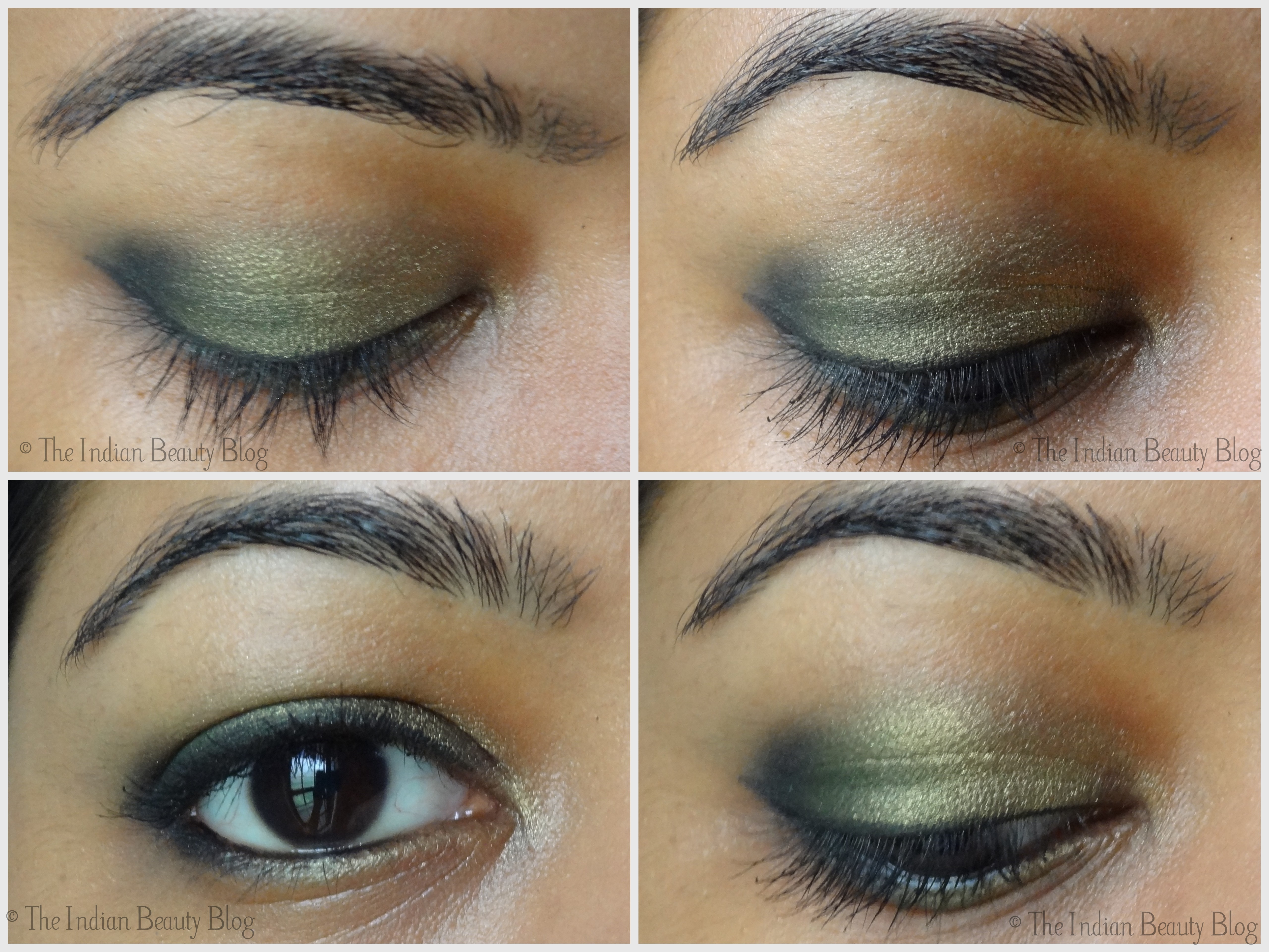 30 Days Eye Makeup Challenge Look 6 The Indian Beauty Blog