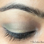 30 days' eye makeup challenge: Look #19- Subtle green