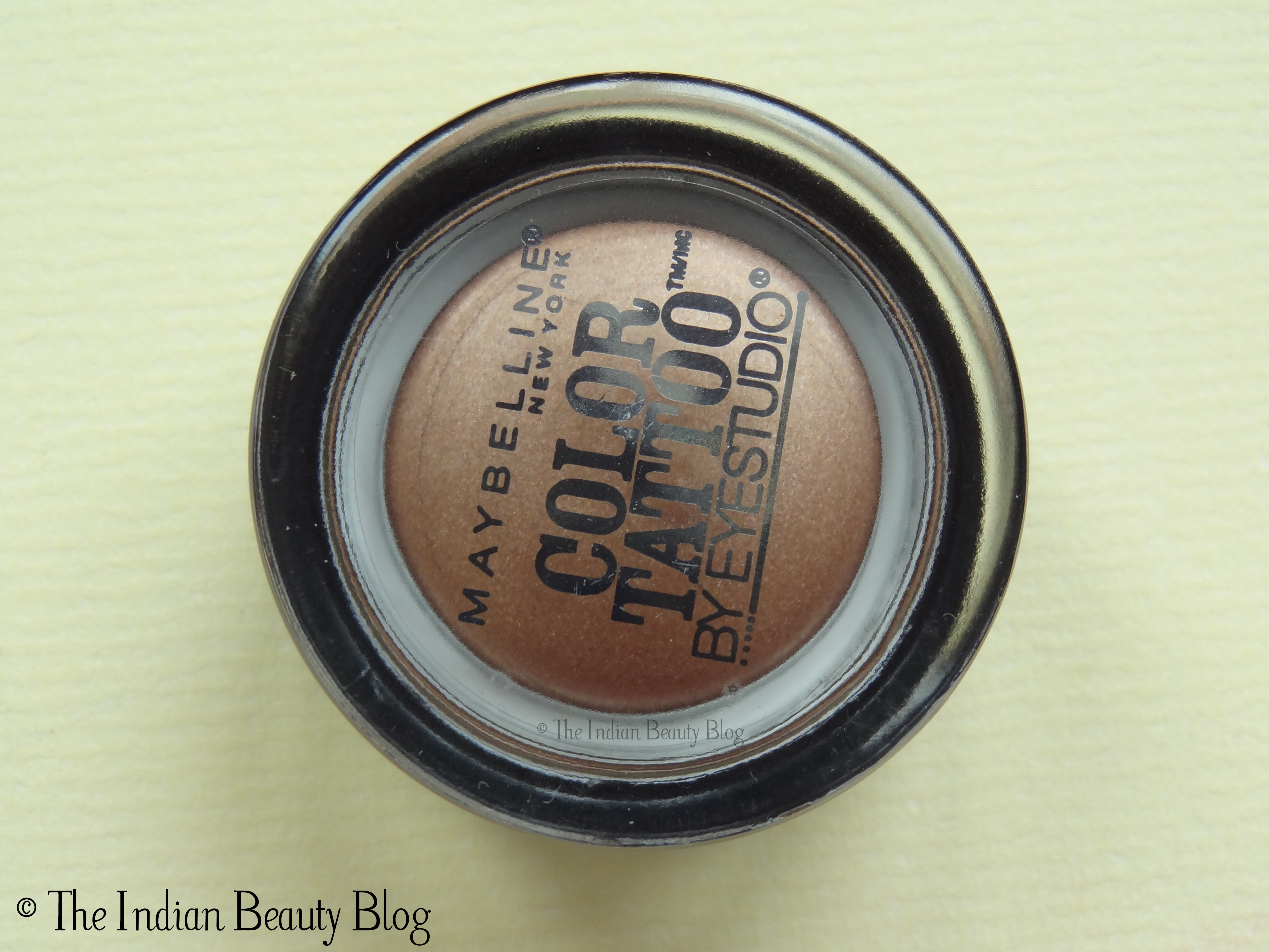 Maybelline color tattoo bad to the bronze review swatch eotd maybelline color tattoo bad to the bronze baditri Image collections