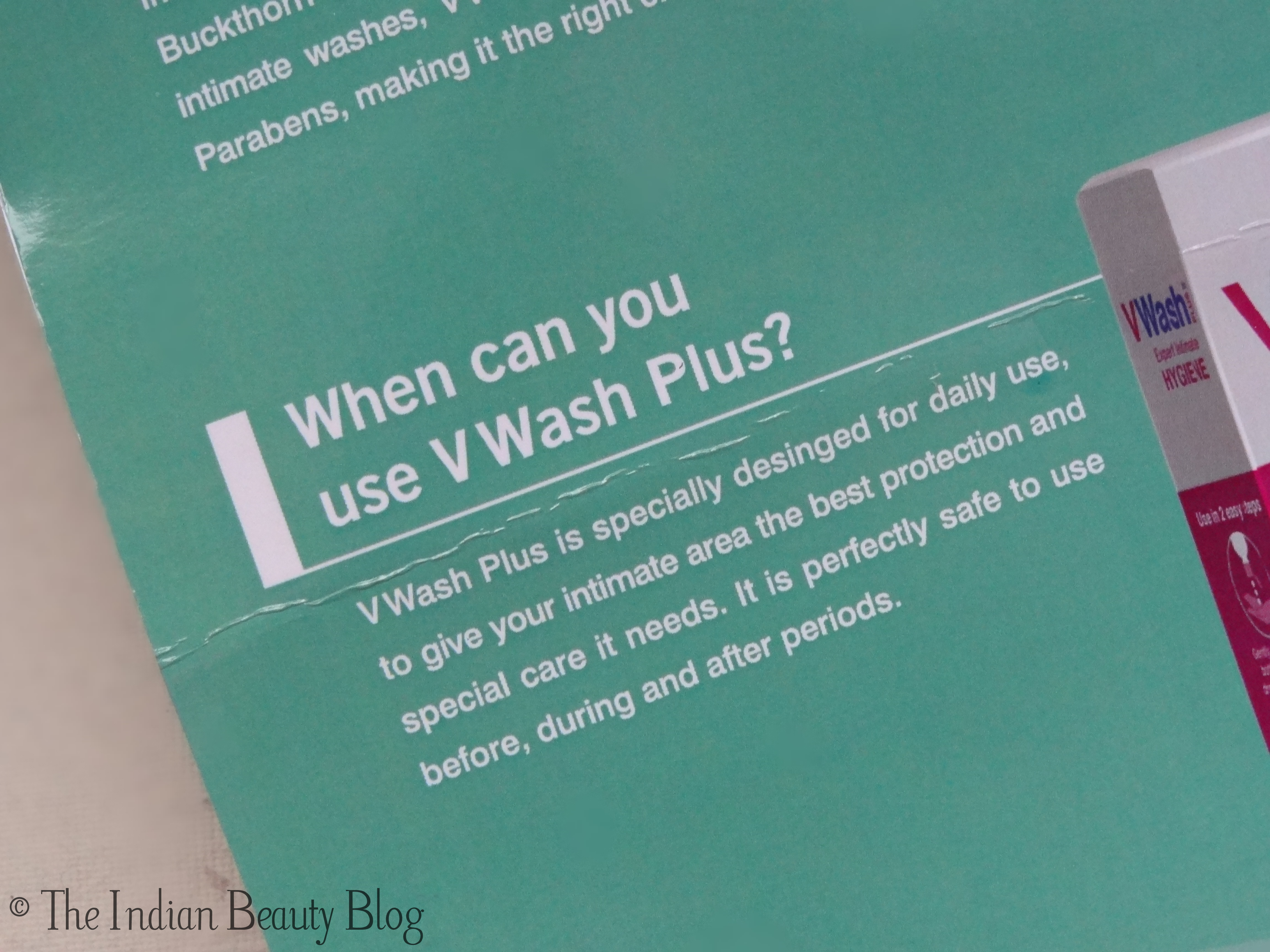 Do You Use An Intimate Wash V Wash Plus The Indian