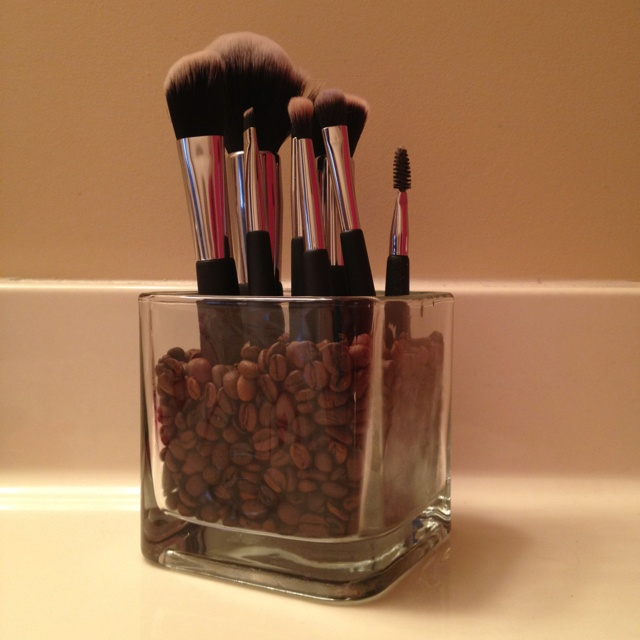 coffee brush stand