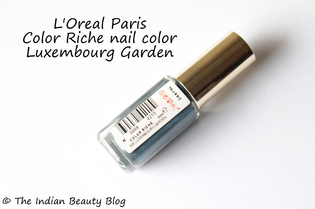 l'oreal color riche nail color luxembourg garden (4)