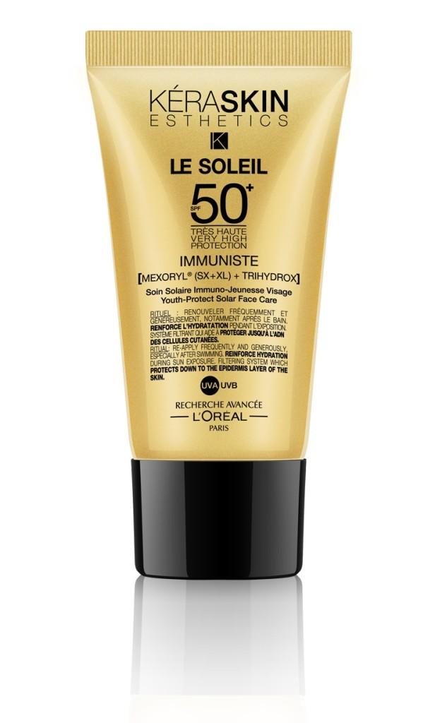 Keraskin Immuniste Le Soleil SPF 50+