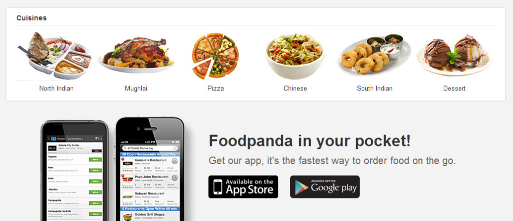 Foodie craving for food check out foodpanda