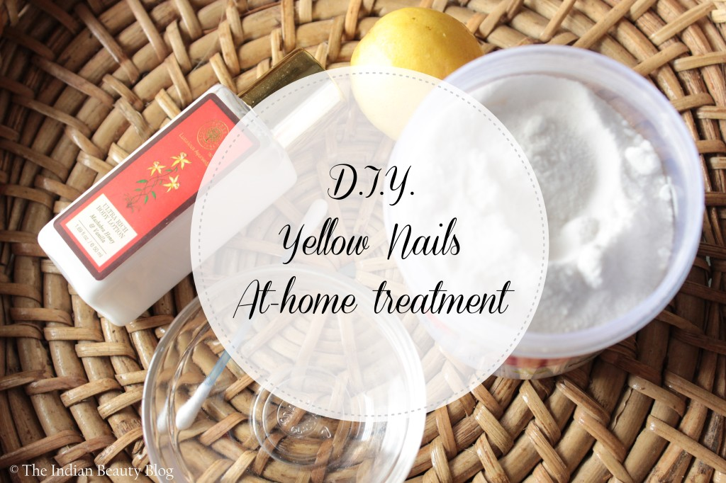 treat yellow nails