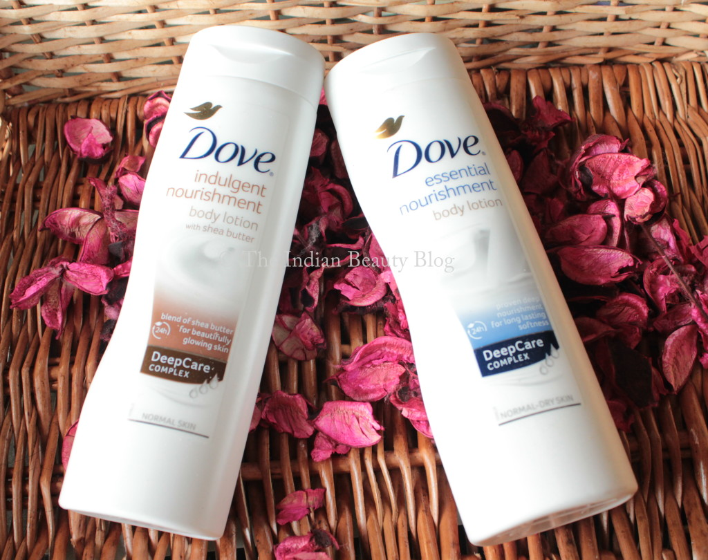dove body lotions