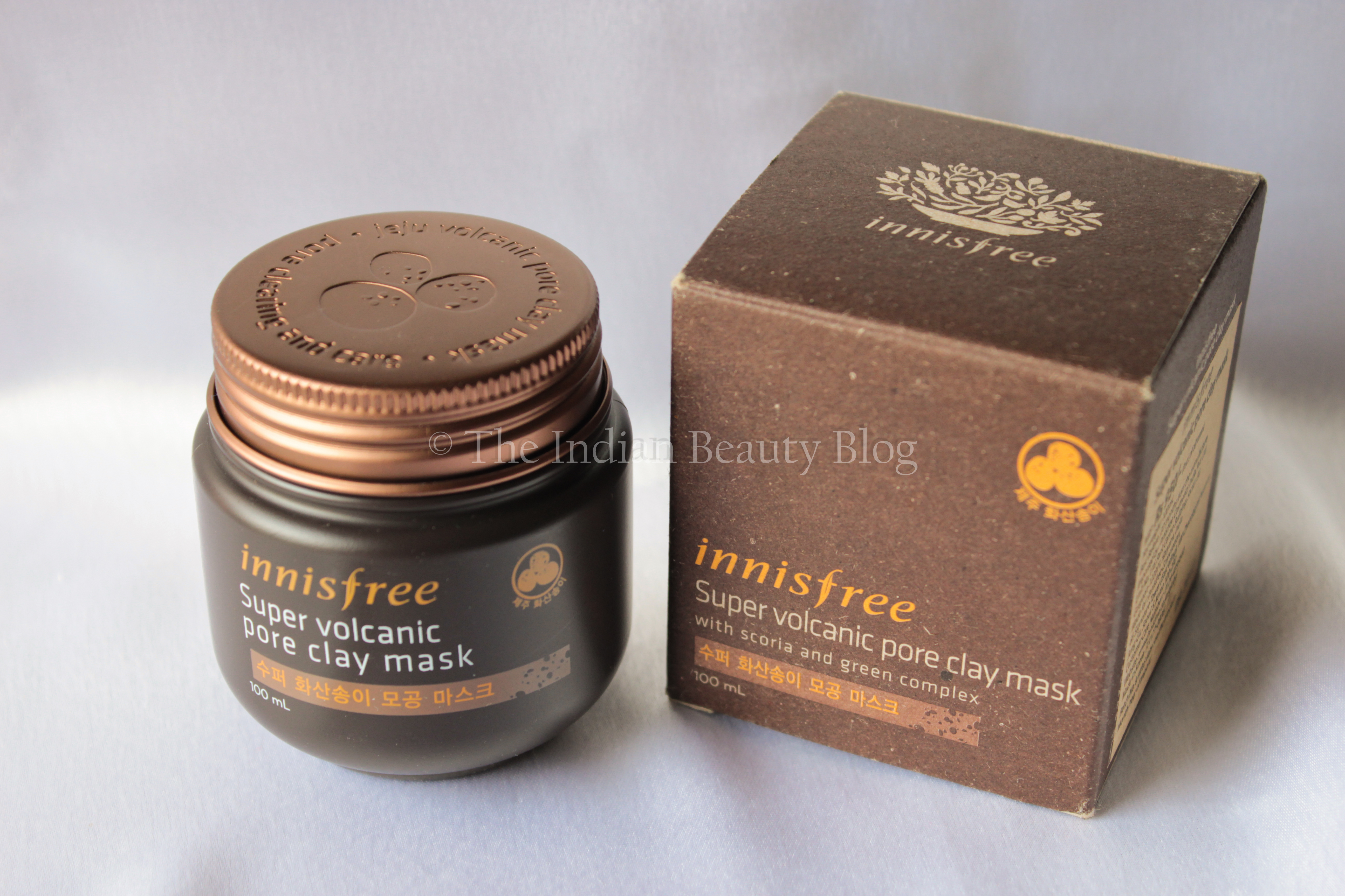 how to use innisfree clay mask