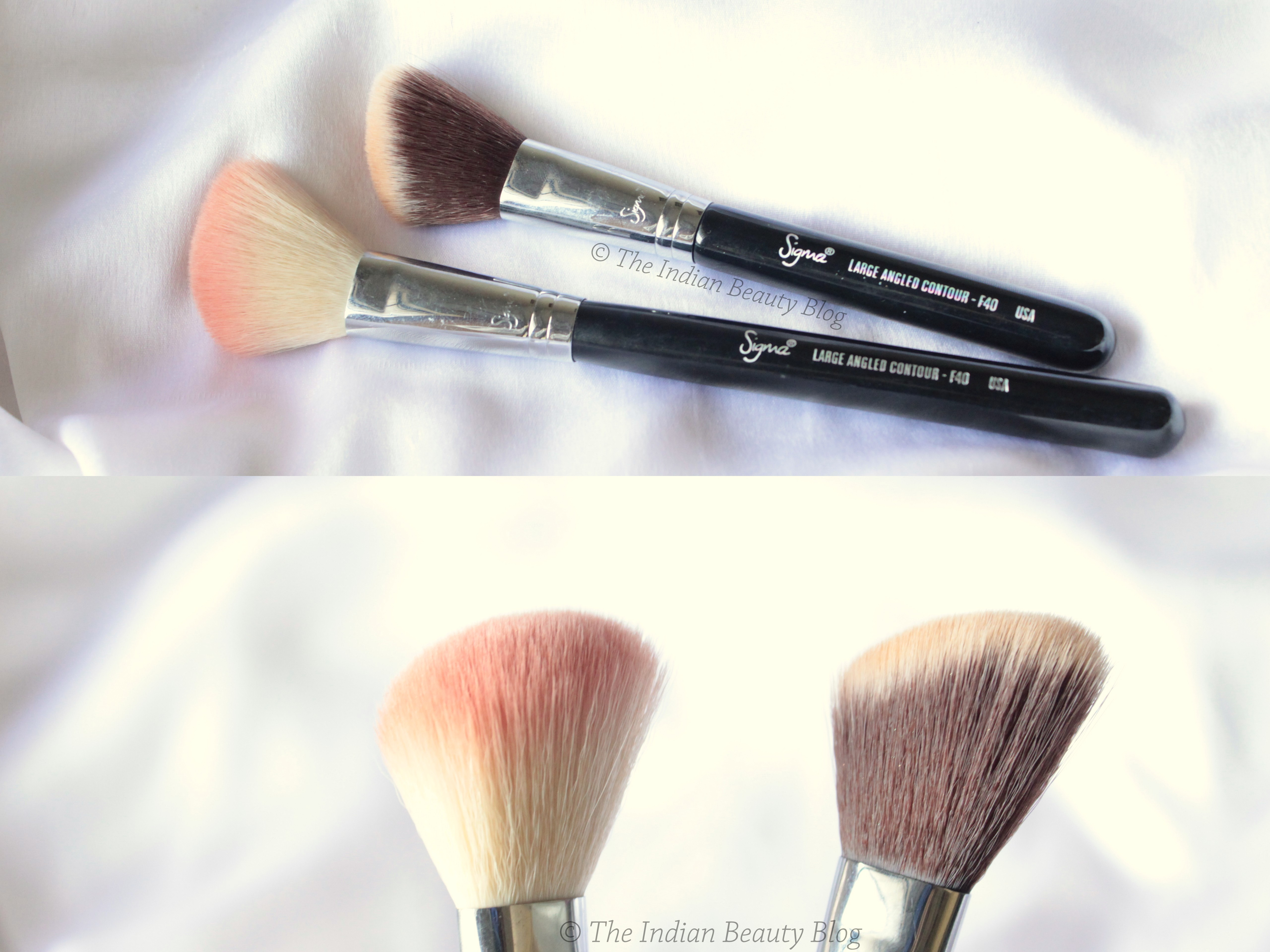 What does a foundation brush look like