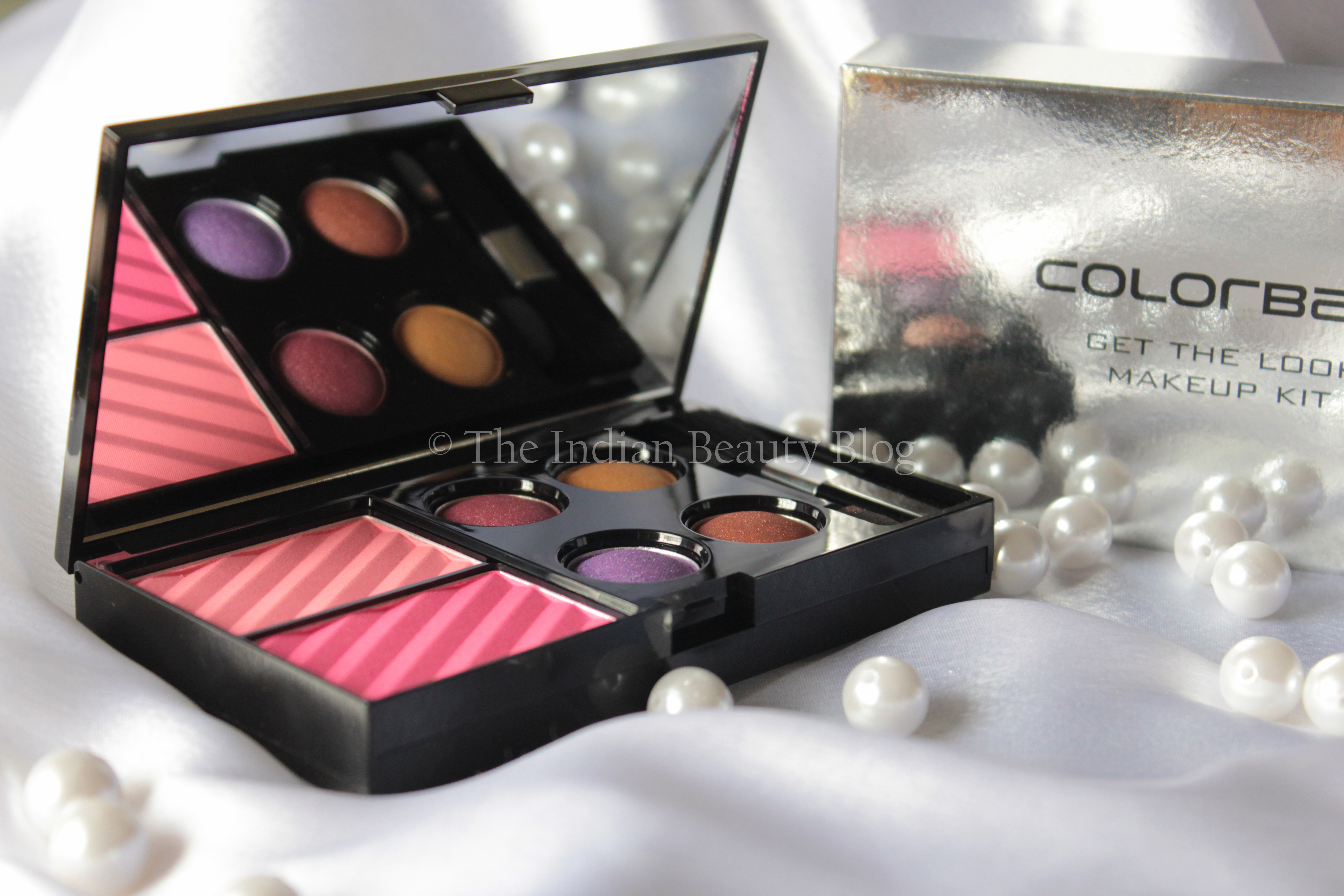 colorbar get the look makeup kit alluring beauty
