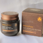 Innisfree Super Volcanic Pore Clay Mask: Review, swatch