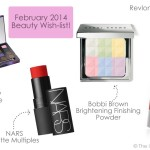 Monthly Beauty Wishlist! {February '14}