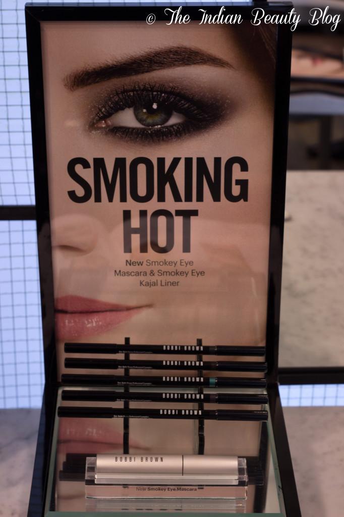 https www theindianbeauty com 2014 02 bobbi brown new smokey eye kajal mascara swatches event pics html