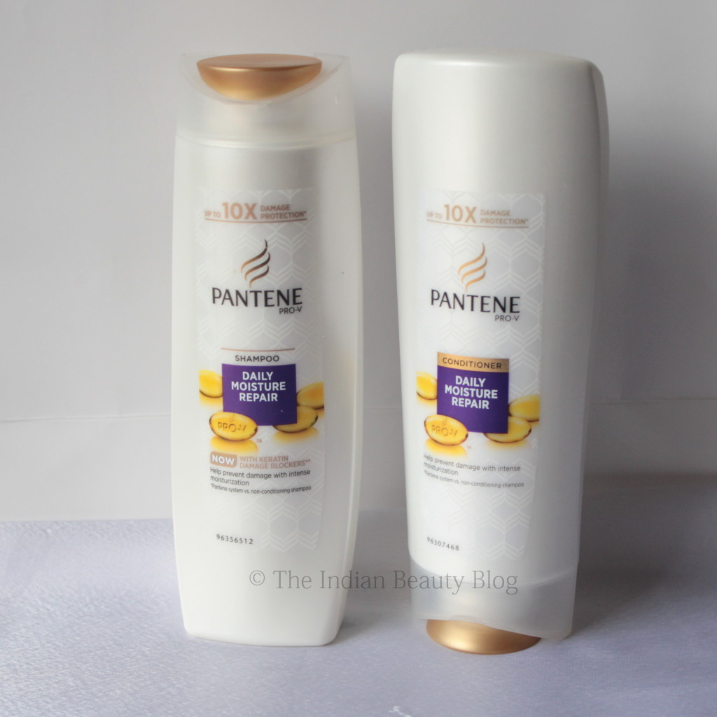 pantene daily moisture repair shampoo conditioner