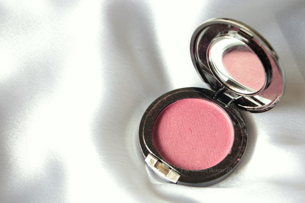 faces glam on blush crimson