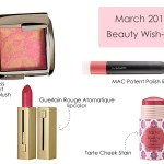 Monthly Beauty Wishlist {March 2014}