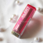 Maybelline Pink Alert lipstick- POW2: Review, swatch, FOTD