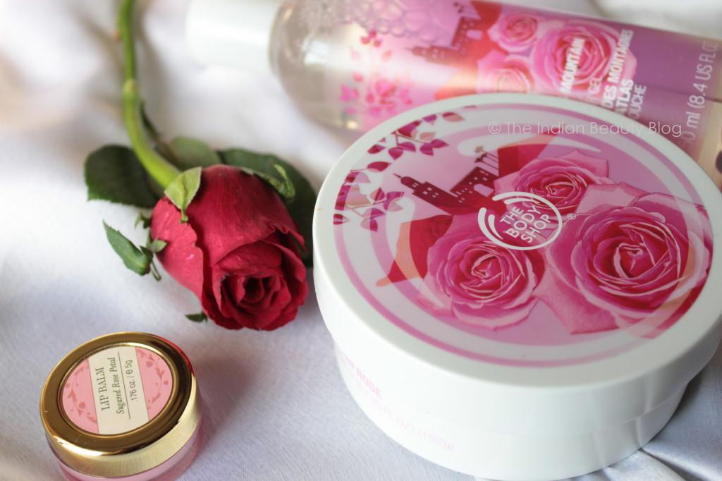 rose scented skincare
