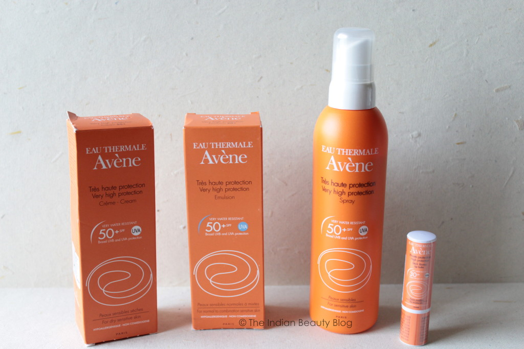 avene very high protection sunscreen products