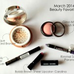 Beauty Rewind: March 2014 beauty favorites