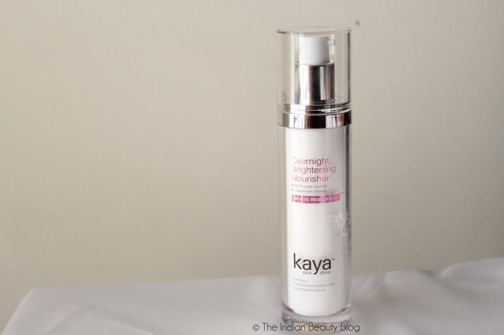 kaya overnight brightening nourisher review