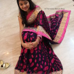 Saree OOTD feat. Triveni Sarees