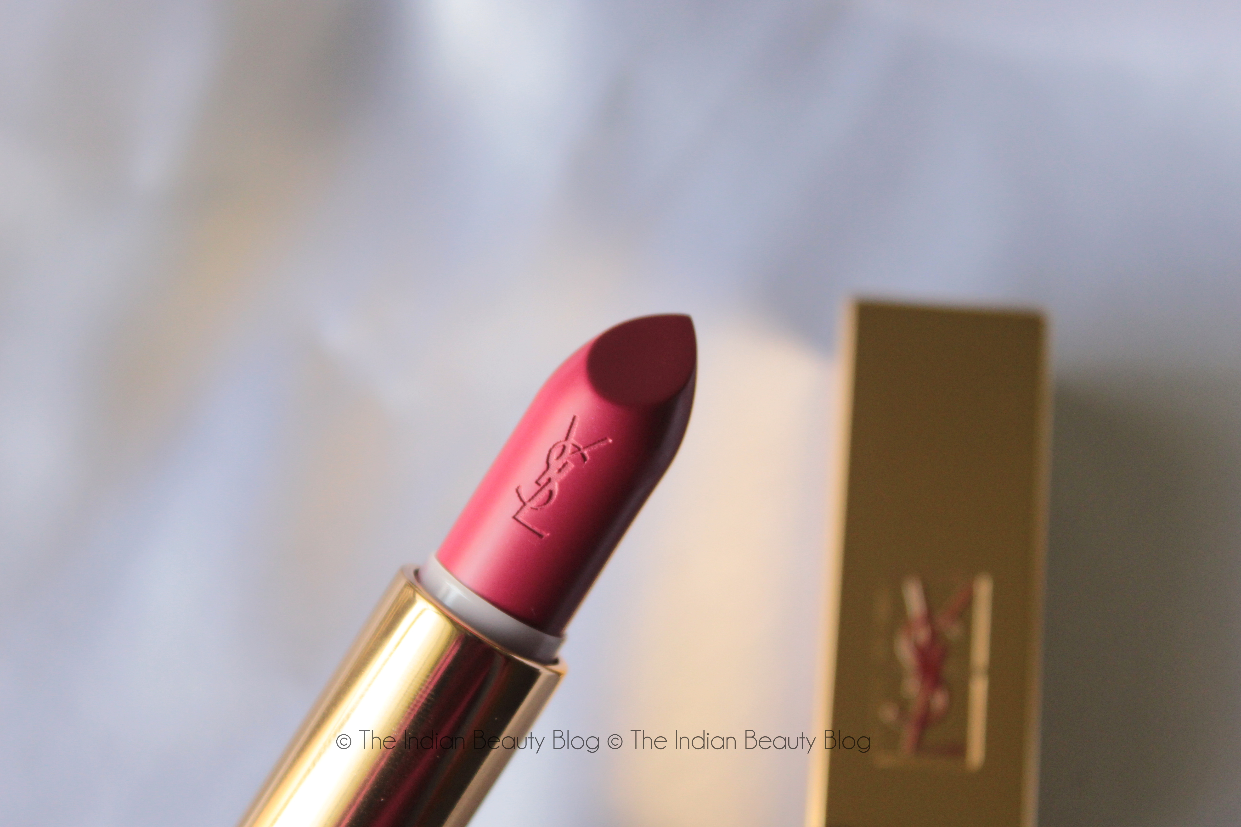 ysl rouge pur couture lipstick 60 the indian beauty blog. Black Bedroom Furniture Sets. Home Design Ideas