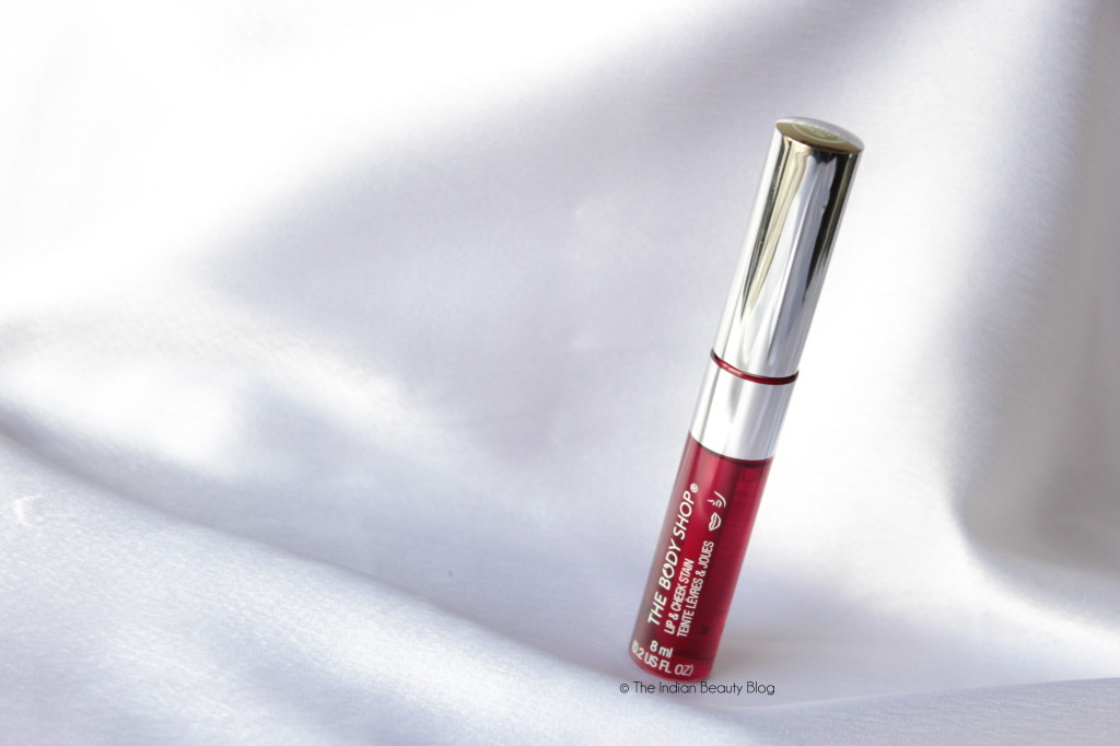 the body shop lip and cheek stain review