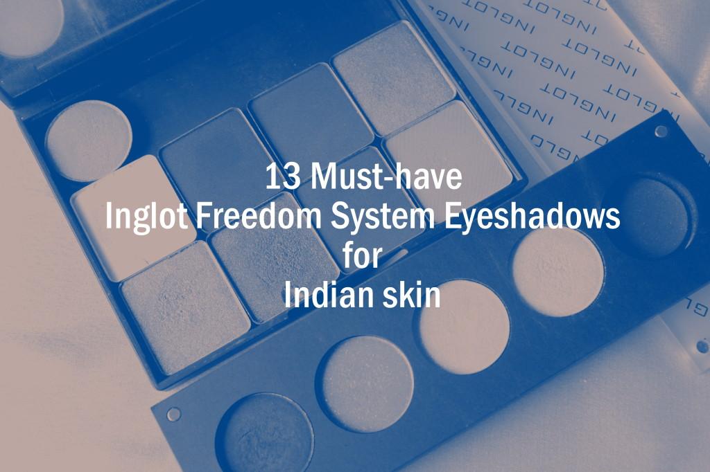 inglot eyeshadows for medium skintone