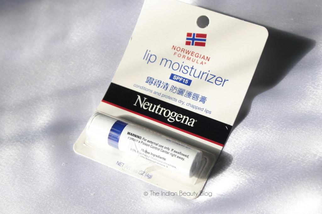 neutrogena norwegian formula lip balm spf15