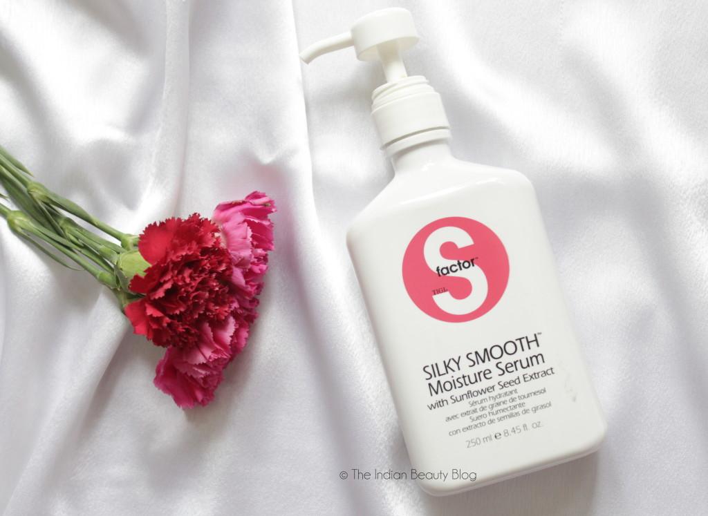 s factor tigi silky smooth moisture serum