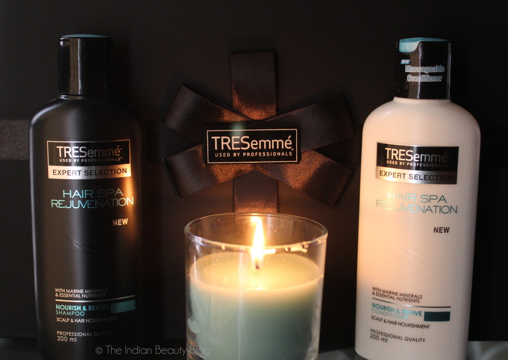 tresemme hair spa rejuvenation launch event